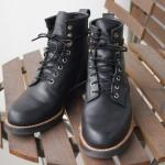 育てる系ブーツ安藤製靴 nero 2ヶ月半後