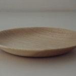 喜八工房の木目美しい小皿たち