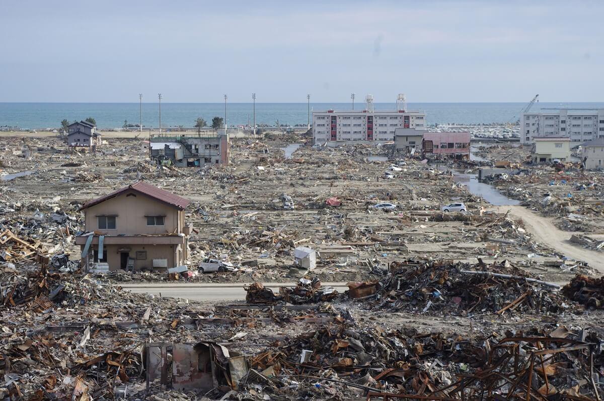東日本大震災石巻市 (2)