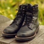 育てる系ブーツ安藤製靴 nero 4ヶ月半後