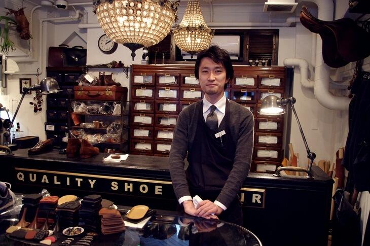 100年履ける靴の番人 UNION WORKS