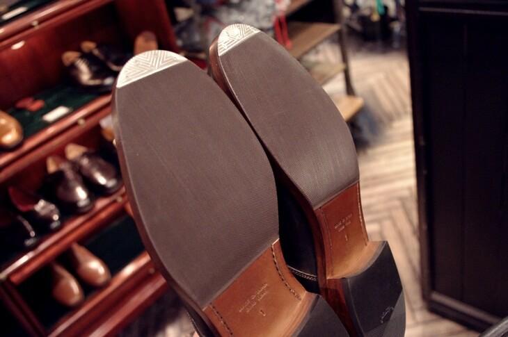 UNION WORKSで100年履けるドヤ靴に変身!
