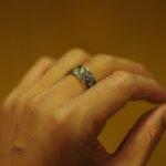 14年ぶりに指輪付けたら超ハイテンション。