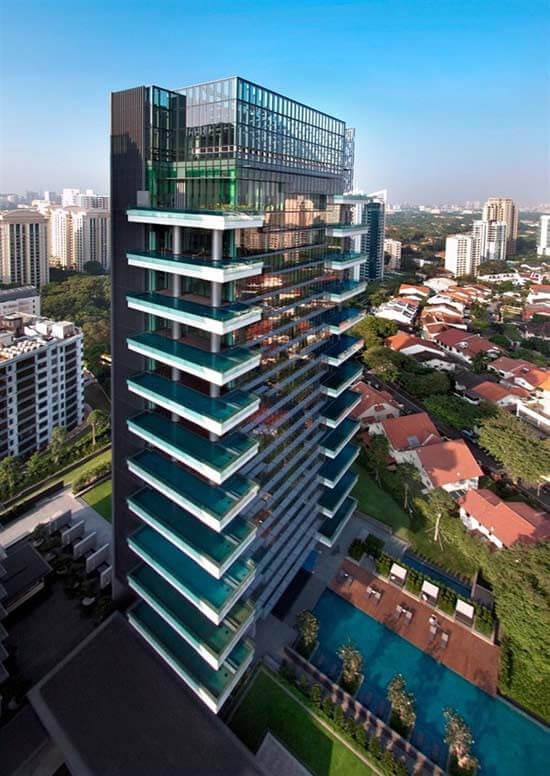 シンガポールのエルメスのマンション worlds-first-hermes-apartment-the-marq-on-paterson-hill-3