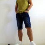 UNIQLOの変身ショーツの長さを修正