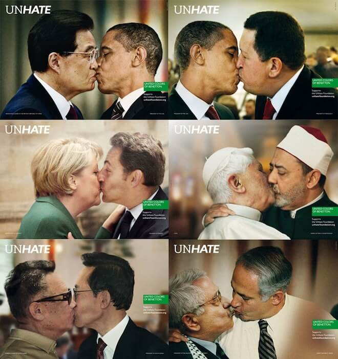 Media Critics  Unhate - United Colors of Benetton bd68fe14a6d