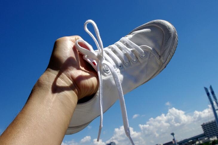 White sneaker springcourt