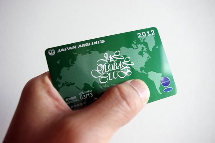 JGC会員カード