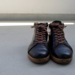 謹賀新年!帰省を供にした靴はスプリングコートのレザースニーカー、そして今年の目標はスニーカーのソール交換!