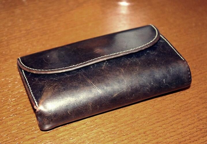 WHC20年モノ三つ折り財布