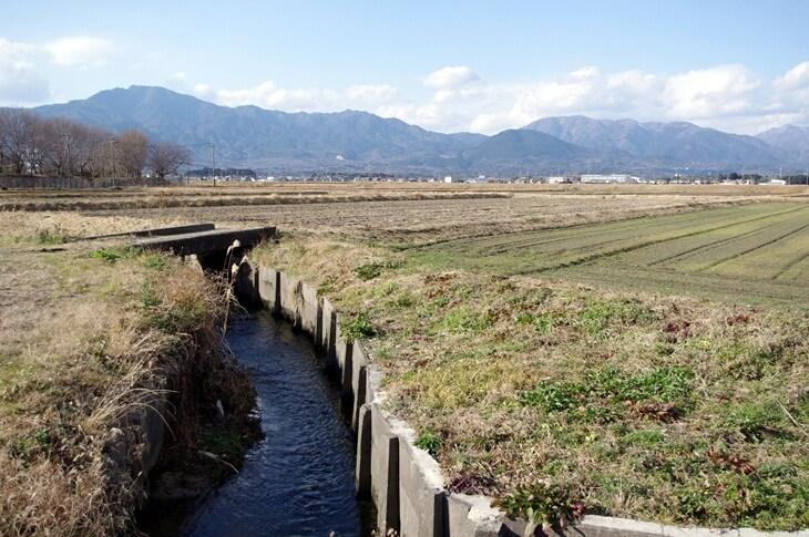 菰野町永井&鈴鹿山脈 (1)