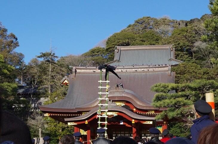 鶴岡八幡宮の出初式 (1)