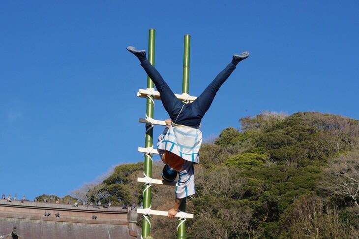 鶴岡八幡宮の出初式 (2)
