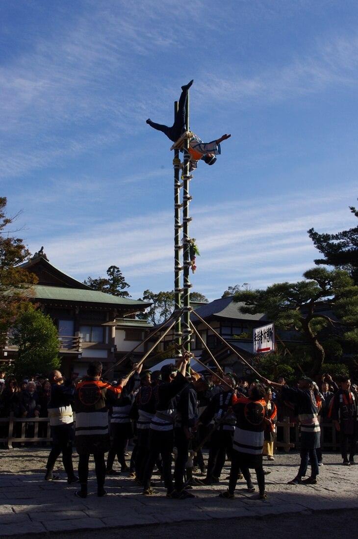 鶴岡八幡宮の出初式 (7)