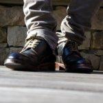 MOTOのコードバンプレーントゥで六本木ヒルズの石畳を歩く!