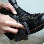 安藤製靴 Z & MOTOのコードバンをせっせと磨く。