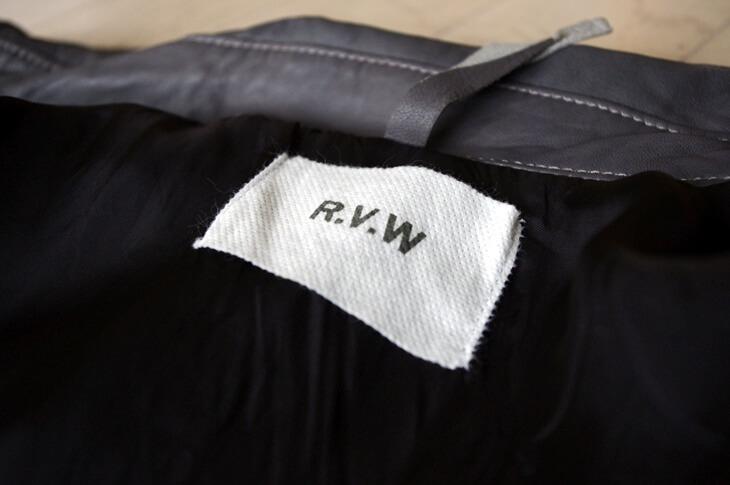 リップ・ヴァン・ウィンクル レザーシャツ