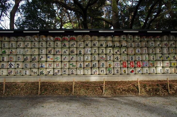 明治神宮のお酒の樽 (3)