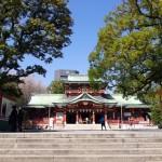 創建1627年の富岡八幡宮へお参りに