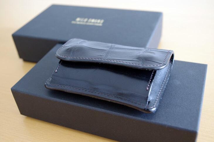 ワイルドスワンズ クロコ財布 (13)