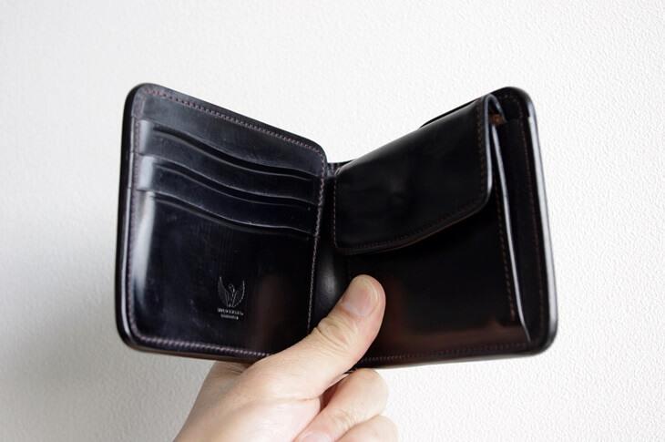 ワイルドスワンズ コードバン財布N (2)