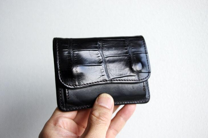 ワイルドスワンズ クロコ財布 (1)