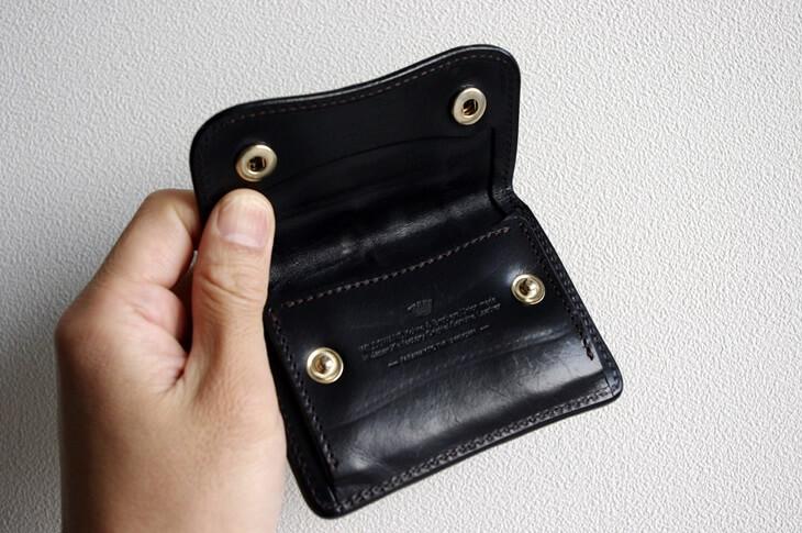 ワイルドスワンズ クロコ財布 (2)