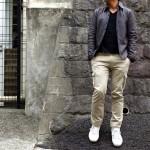 """イタリア・フィレンツェにあるトラウザー専業ファクトリーメーカー"""" giab's """"のカーゴパンツを初めて履いてみたの巻。"""