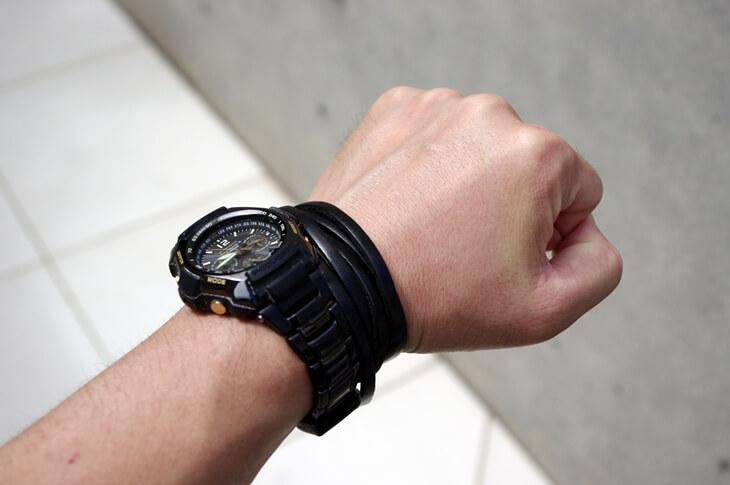 Gショック&バーバリーブレスレット G-SHOCK & BURBERY Bracelet