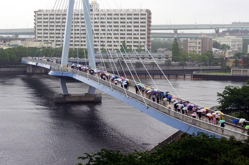 東雲 辰巳桜橋