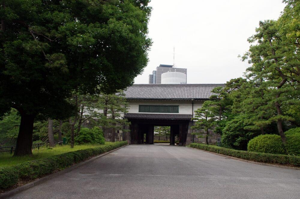 皇居 江戸城 平河門