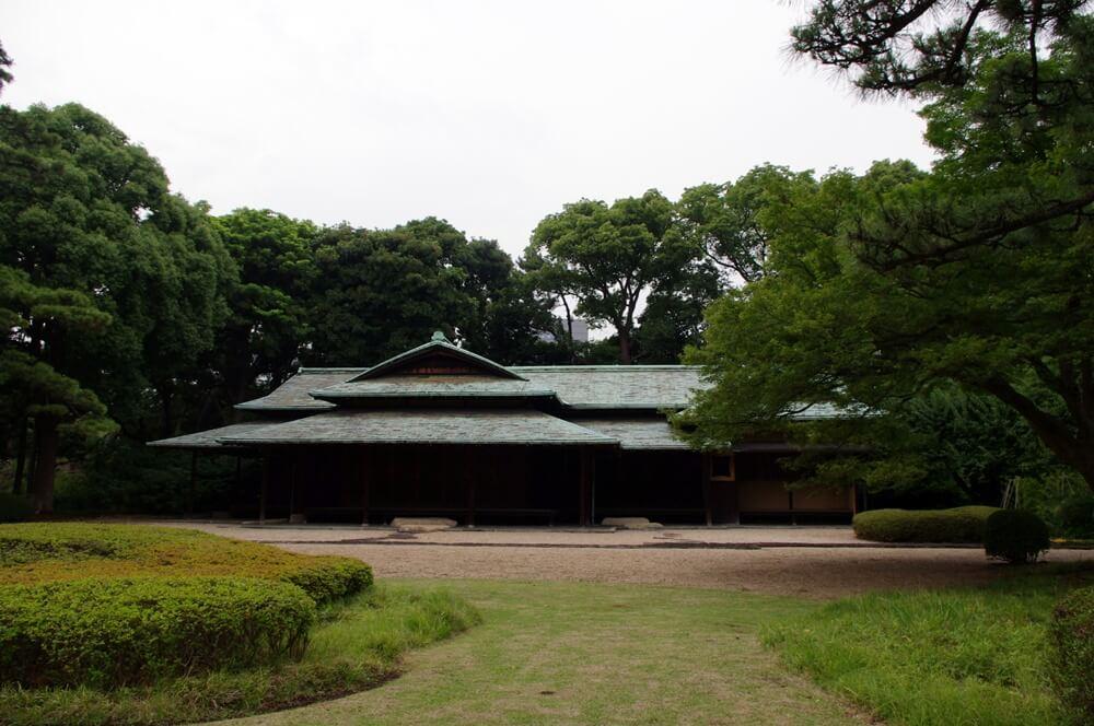 皇居 江戸城 諏訪の茶屋