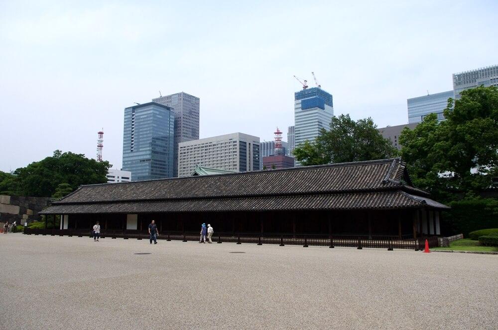 皇居 江戸城 百人番所