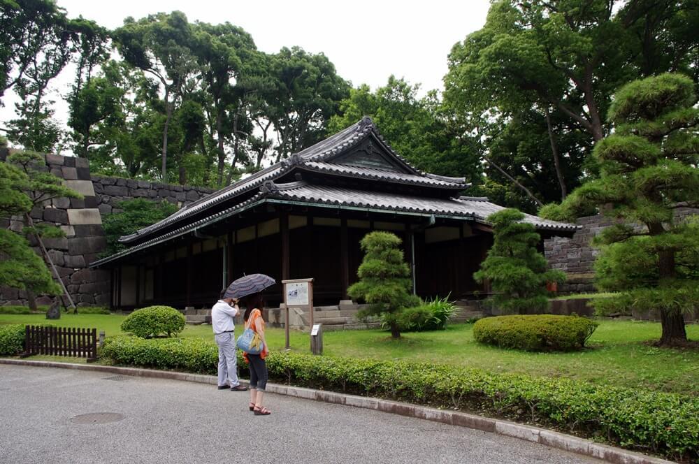 皇居 江戸城 大番所