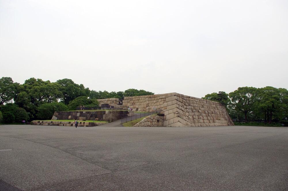 皇居 江戸城 天守台
