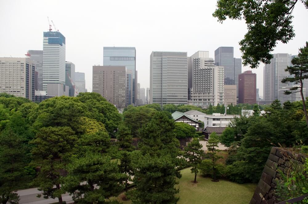 皇居 江戸城 展望台