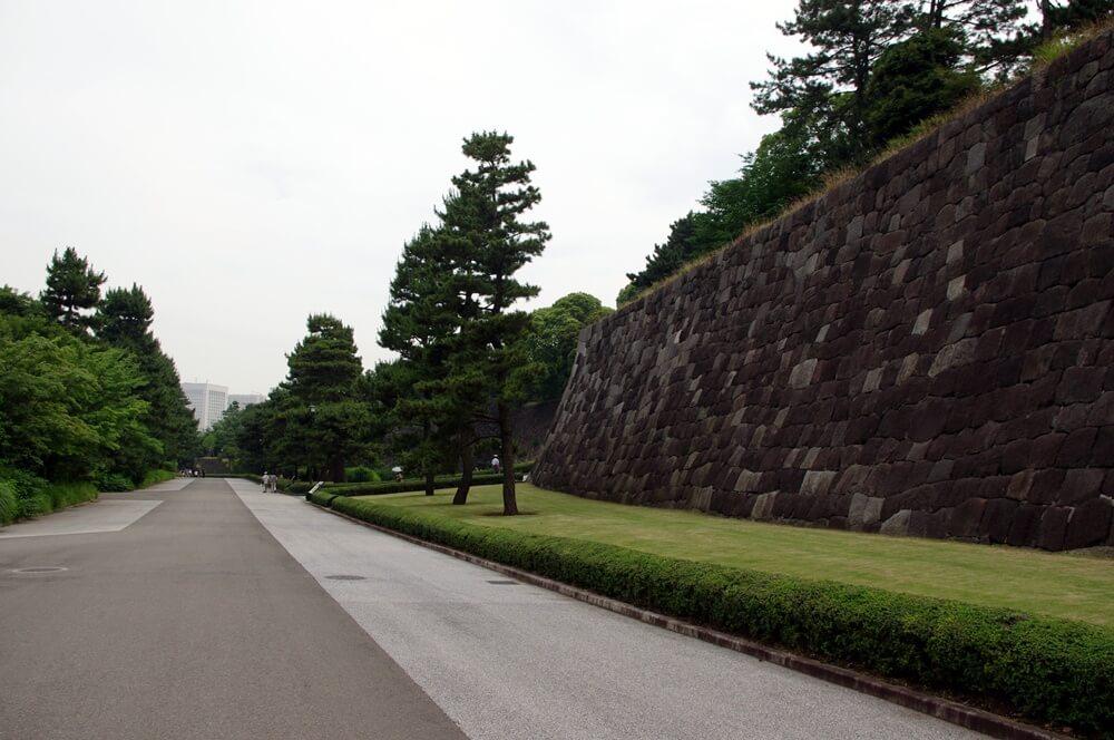 皇居 江戸城 汐見坂下