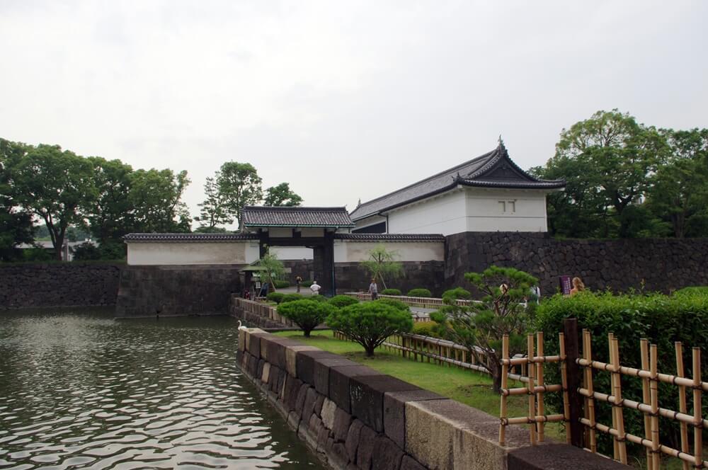 皇居 江戸城 大手門