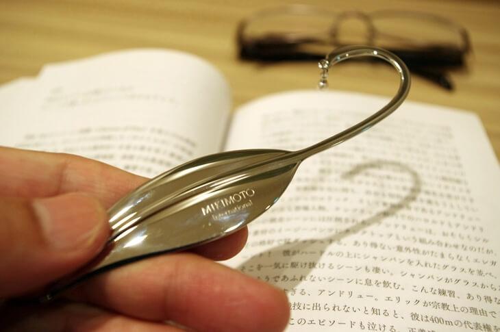 真珠のミキモト 本の栞 MIKIMOTO BOOKMARK (2)