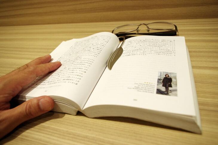 真珠のミキモト 本の栞 MIKIMOTO BOOKMARK