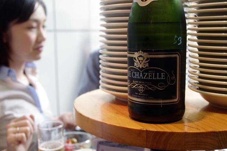 俺のフレンチ 恵比寿店 フランス産スパークリングワイン 2299円  (5)