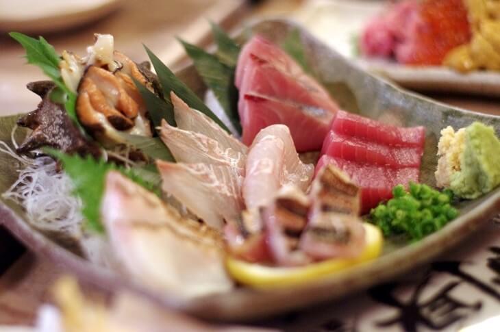 魚真乃木坂店 刺身盛り合わせ3人前