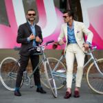 自転車に乗るファッショニスタたち。Part.1