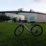 100年目指す自転車のブレーキパッド交換デス。