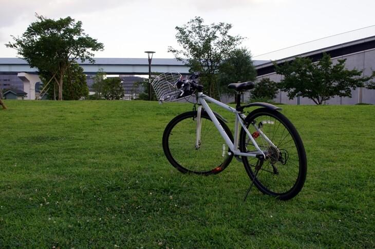 自転車 チャレンジ21オリジナル RAYSUS CBR-266 2009年モデル アルミ製クロスバイク 重量12kg(4)