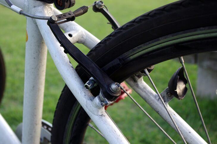 自転車後輪ブレーキ Bicycle  brake (1)