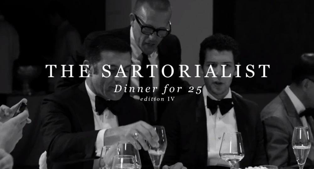 THE SARTORIALIST DINNER FOR 25 EDITION IV (4)