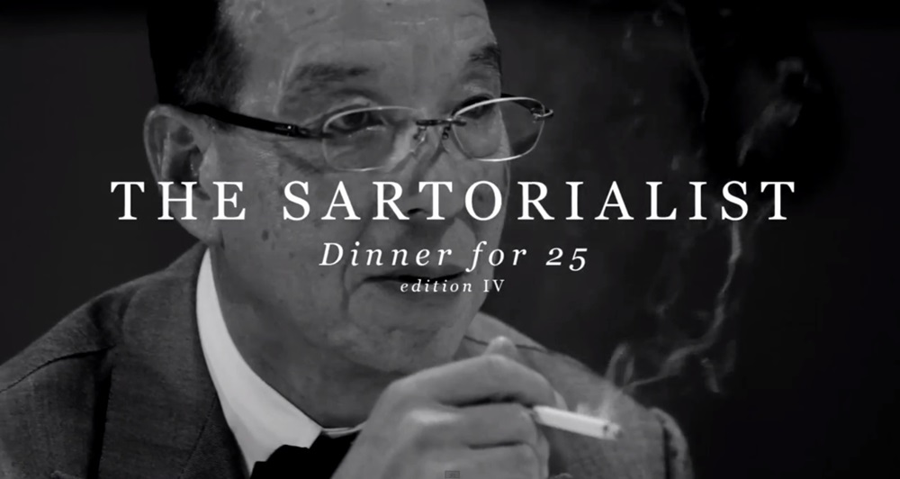 インコントロ 赤峰氏 THE SARTORIALIST DINNER FOR 25 EDITION IV (5)