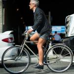 自転車に乗るファッショニスタたち。Part.4