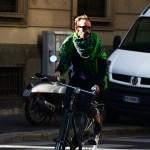 自転車に乗るファッショニスタたち。Part.3